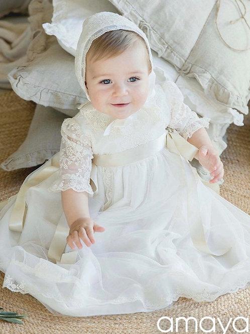 Amaya Christening Gown