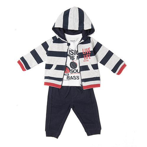 Minibol 3 Piece  Hoodie, Top & Joggers