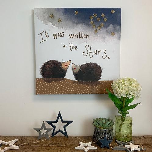 Alex Clark 'Written in the Stars' Med Canvas