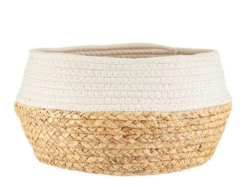 White Dipped Basket