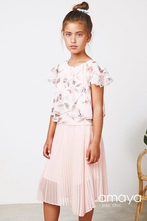 Amaya 2 Piece Top & Skirt