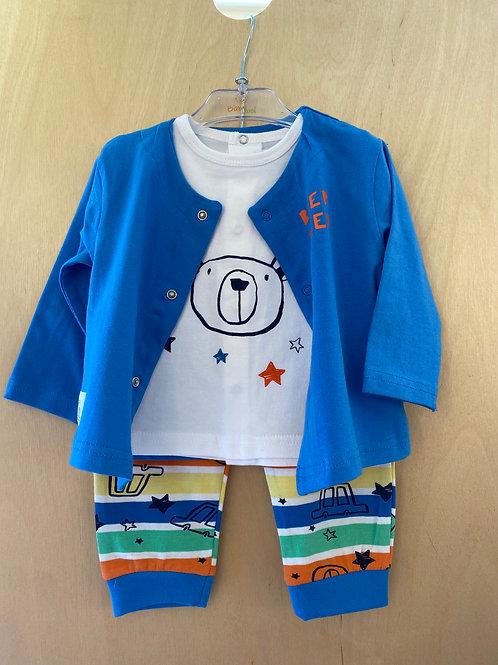 Babybol 3 Piece Top, Cardi & Pants