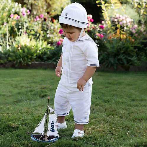 Emile et Rose 3 Piece Set, Shirt, Trousers & Hat