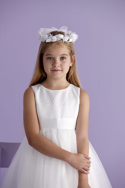 First Communion Flower Ring