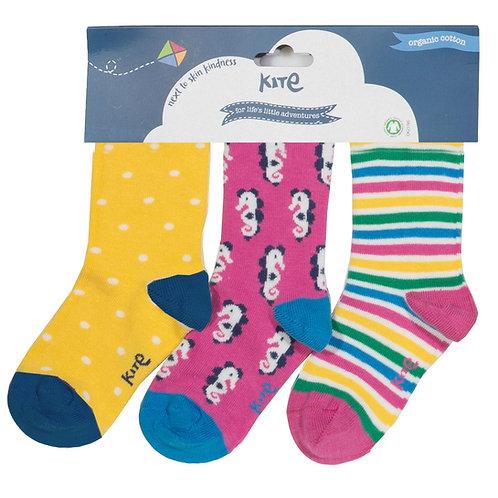 Kite 3 Pack Socks