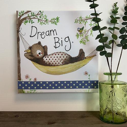 Alex Clark 'Dream Big' Med Canvas