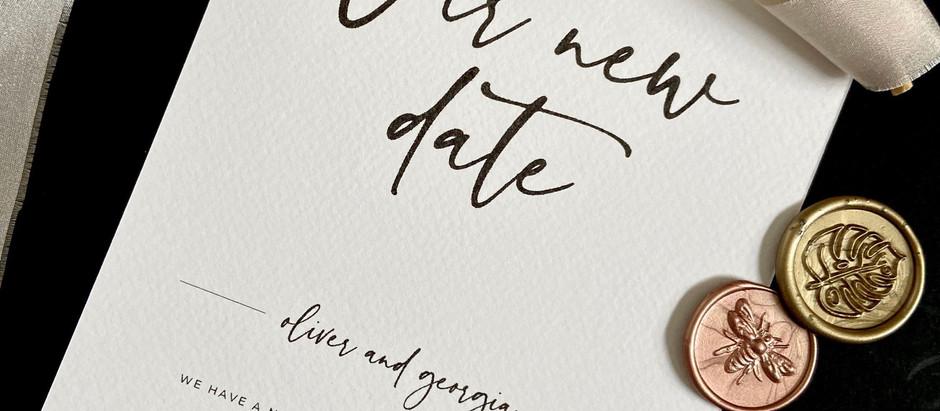 Como comunicar o adiamento dos casamentos de 2020?