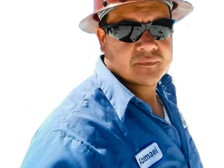 Safety Spotlight - Abimael from Coastal Commercial Roofing