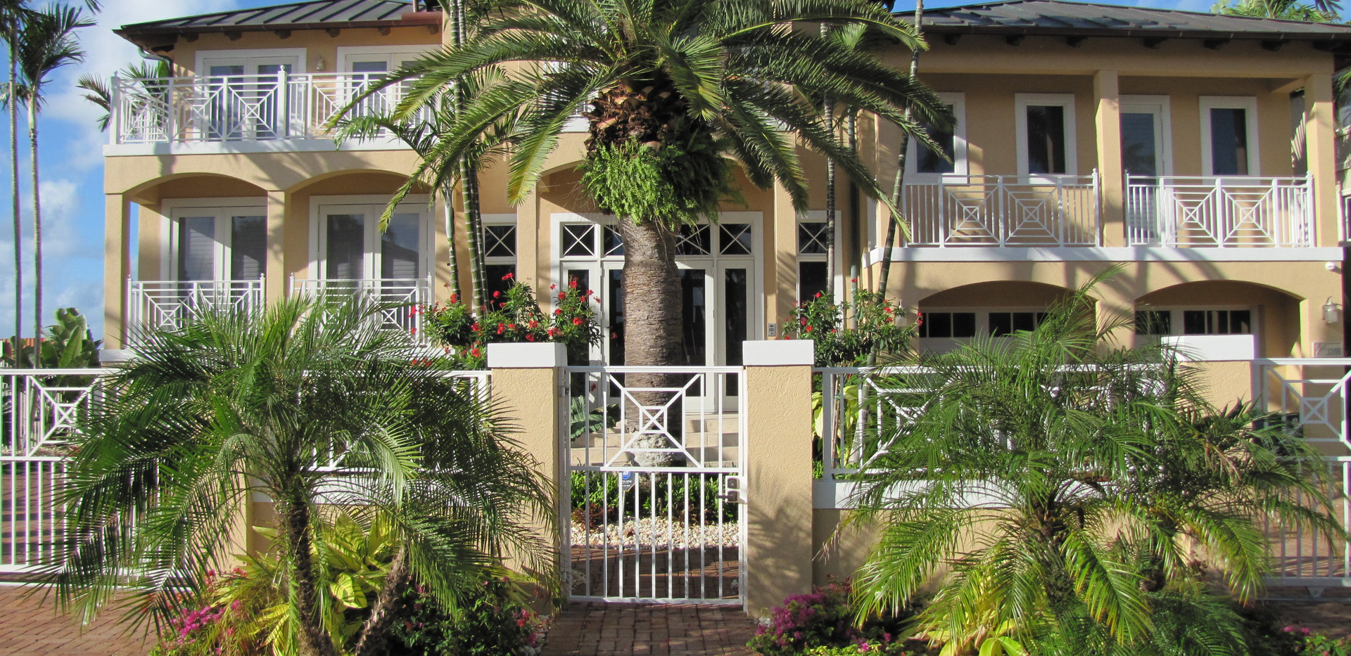 After Landscaping Front of House -