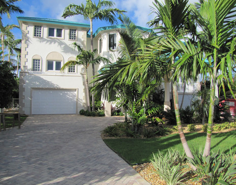 New Landscaping After Irma