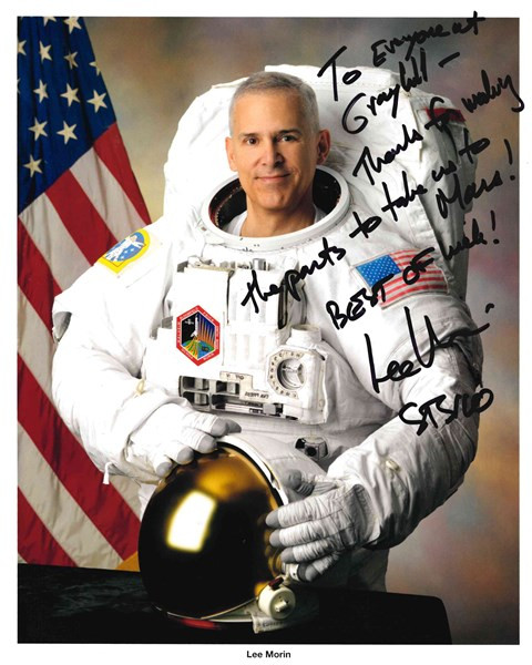 Captain Lee Morin from NASA Orion Program
