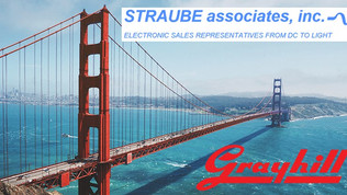 Straube Associates as new Grayhill Rep Firm for Northern CA, NV, and Hawaii