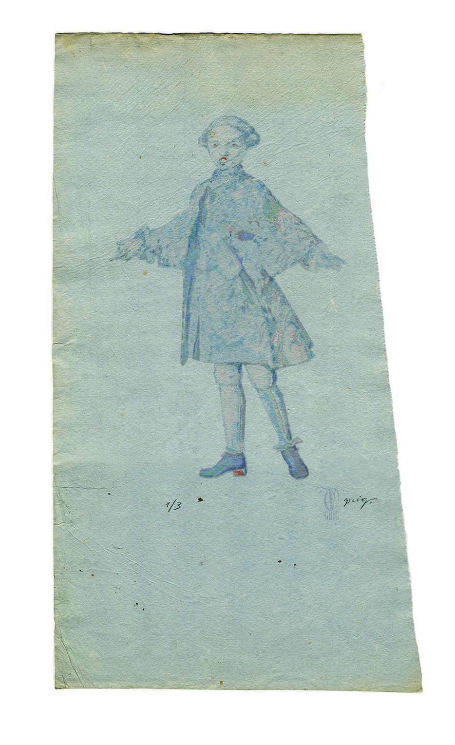 Sheet No.7  Singing  boy (tenorino)