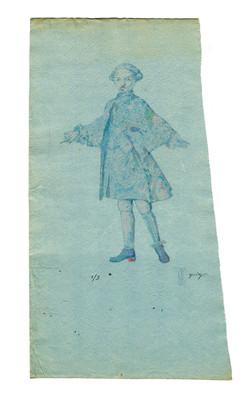 Sheet No.7  Singing  boy (tenorino)