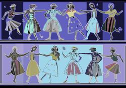 dancing, position III