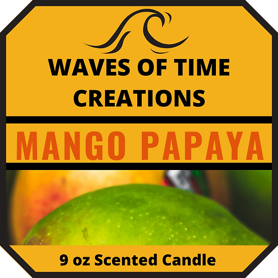 New Mango Papaya Candle