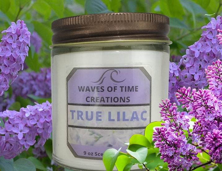 True Lilac Candle