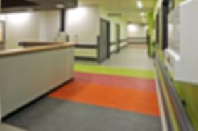 Hospital Commerical Vinyl Floor Covering