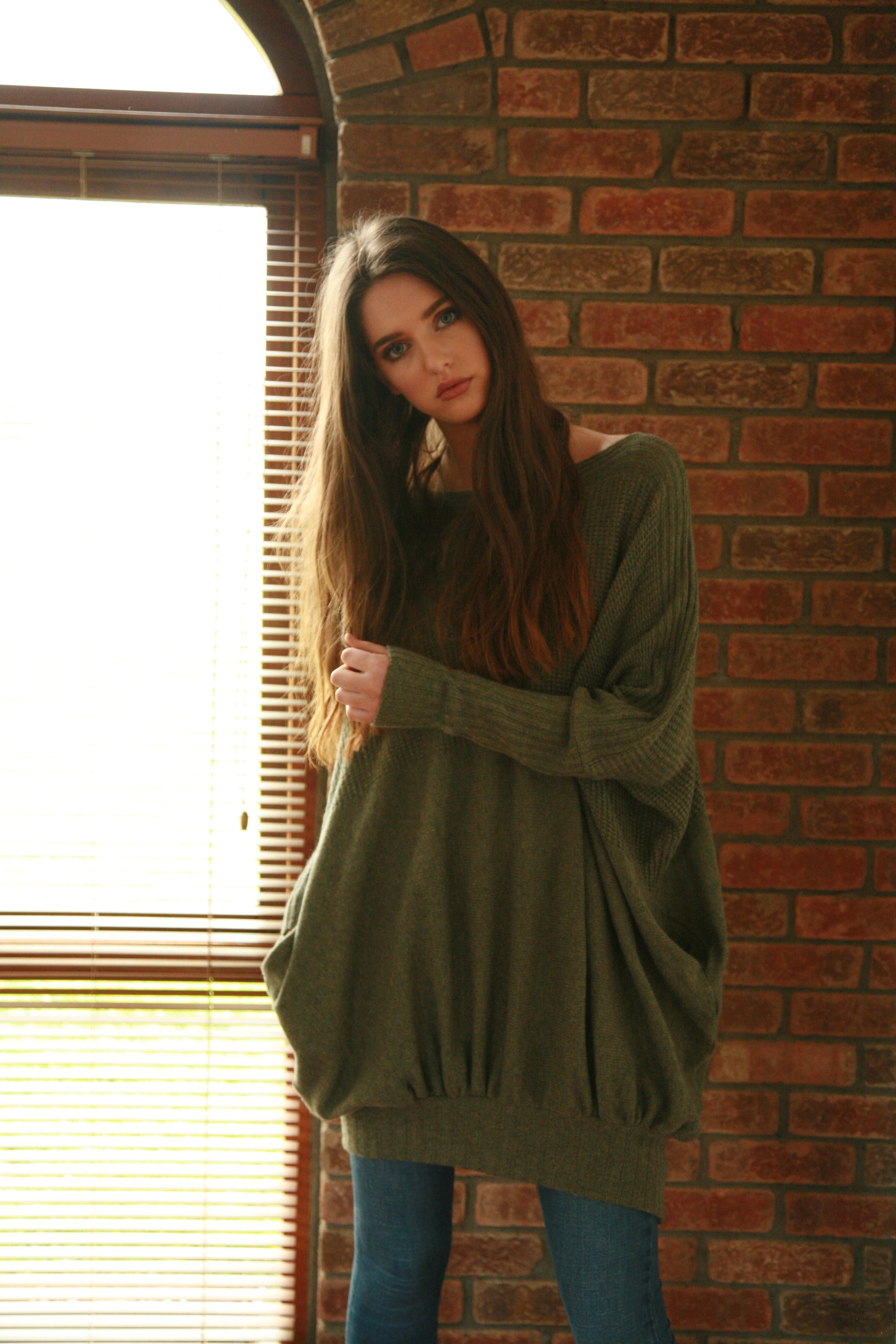 Textured Jumper Dress with Pockets