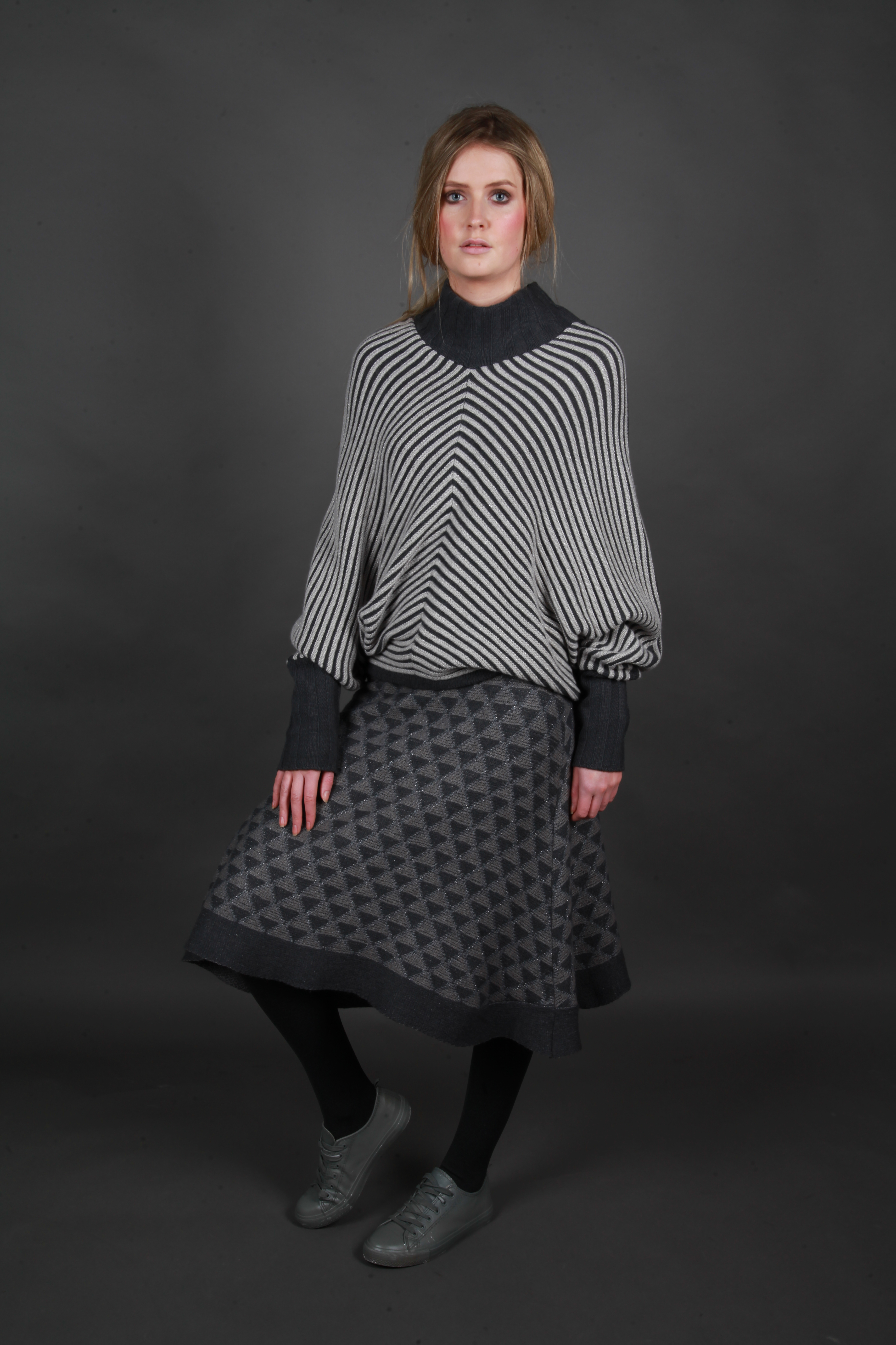 Diamond A-Line Skirt
