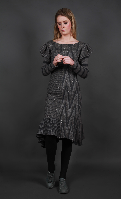 Mix Pattern Dress