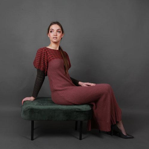 Full length Ribbed Dress
