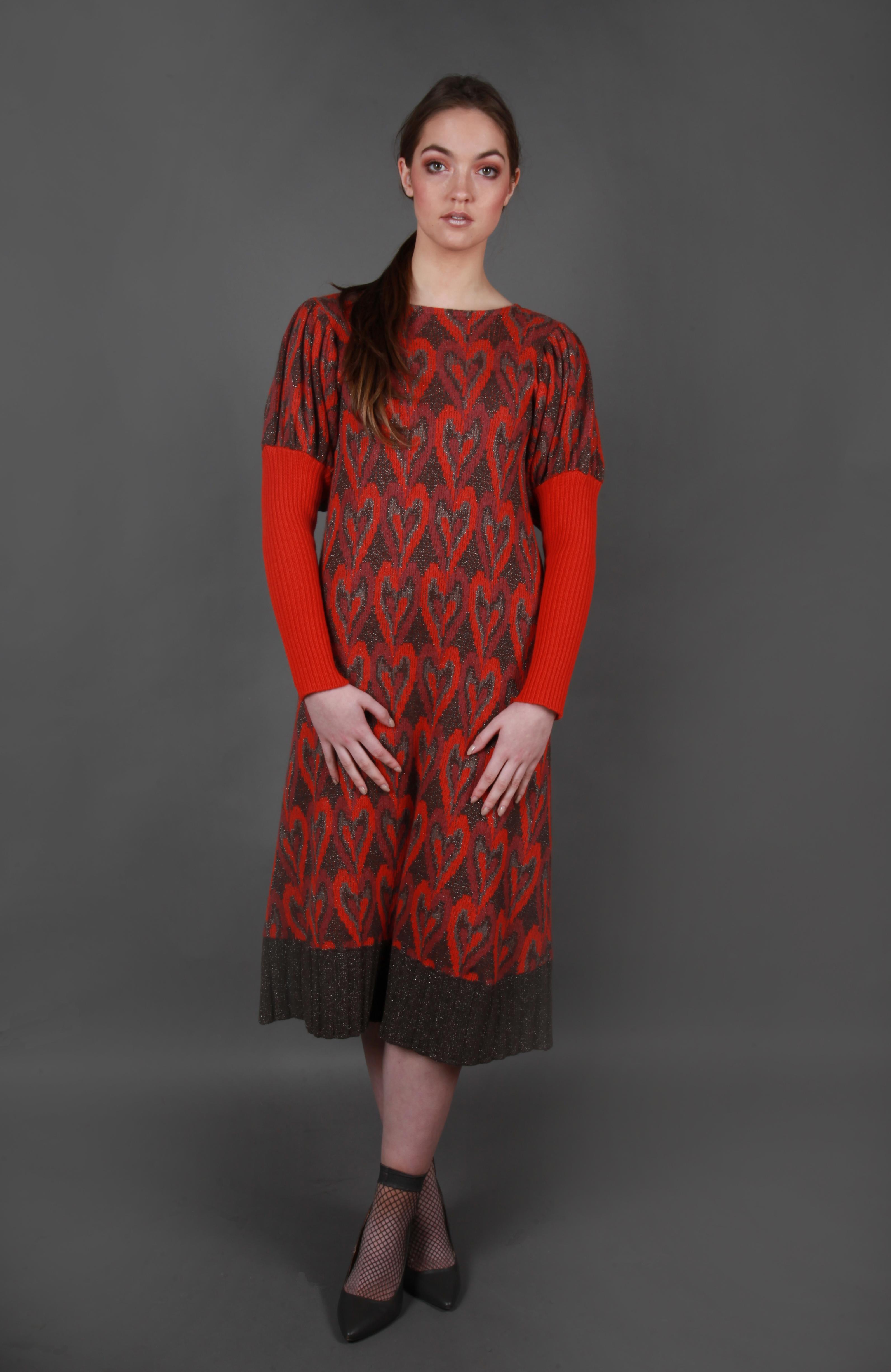 Heart Pattern Dress