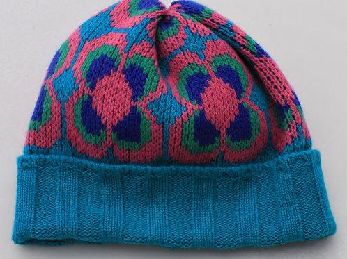 Ribbed Daisy Hat