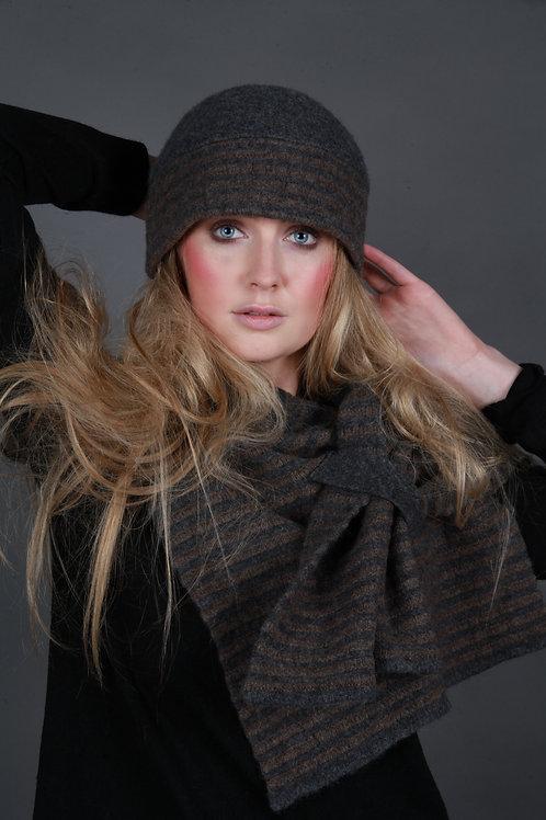 Beret Style Raised Row Hat