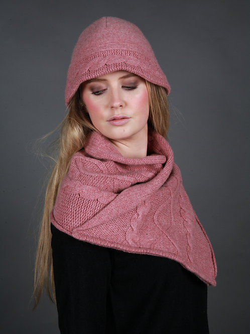 Shawl Cable Scarf