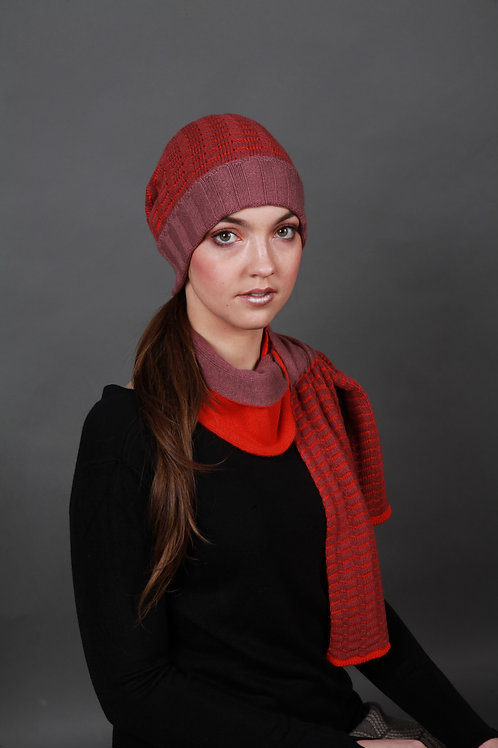 Beanie Ridged Textured Hat