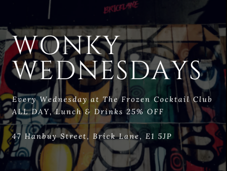 The Frozen Cocktail Club | Wonky Wednesdays