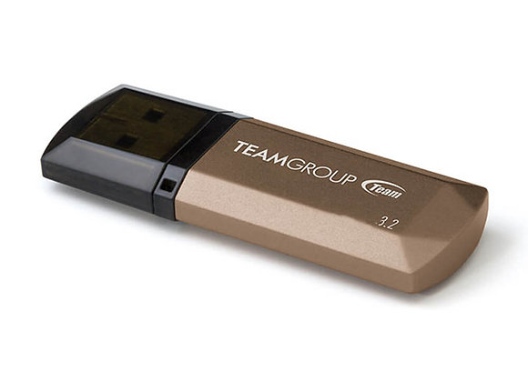 MEMORIA USB TEAMGROUP 128GB C155 3.2 DORADO TC1553128GD01