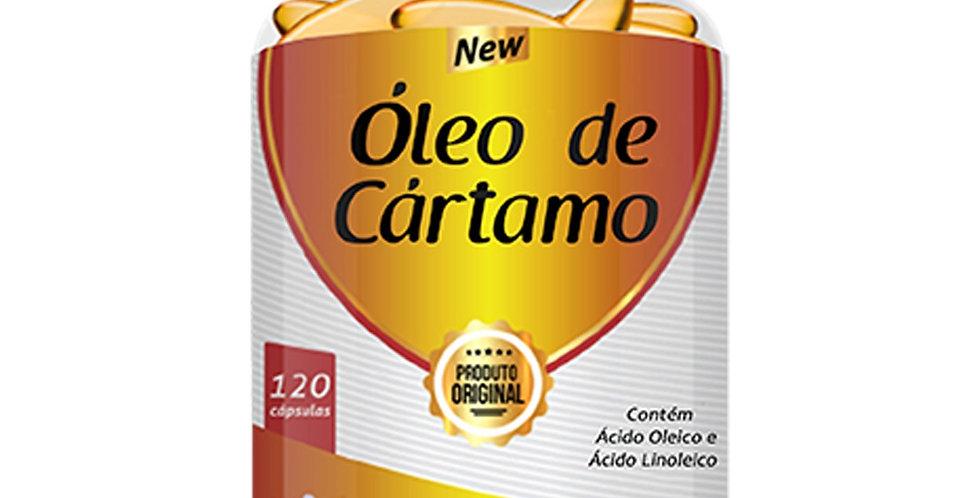 Óleo de Cártamo – Contém ácido oleico e ácido linoleico – 120 cápsulas