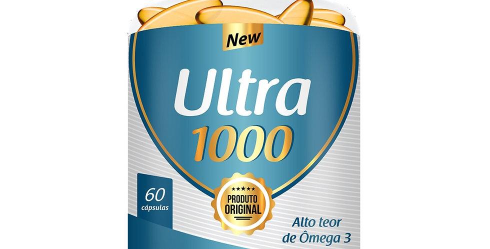 Ultra1000 – Alto teor de ômega 3 – 60 cápsulas