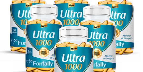 Combo Família - Ultra1000 – Alto teor de ômega 3 – 60 cápsulas