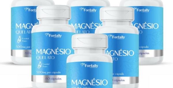 Combo Família - Magnésio Quelato – Essencial para os ossos – 60 cápsulas