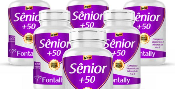Combo Família -Sênior+50 – Complexo vitamínico e mineral de A a Z – 120 cápsulas