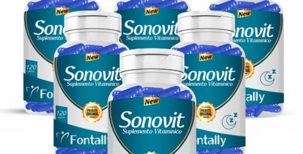 Combo Família - Sonovit – Suplemento vitamínico – 120 cápsulas