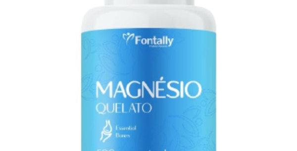 Magnésio Quelato – Essencial para os ossos – 60 cápsulas