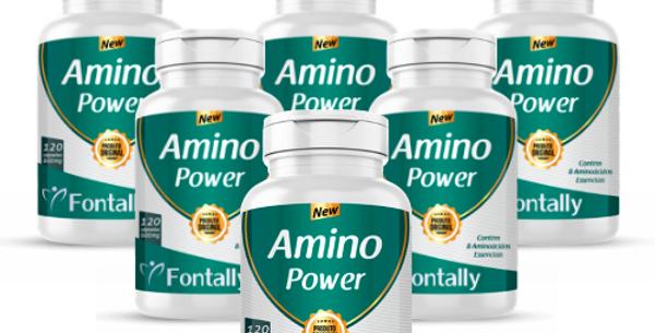 Combo Família - Amino Power – Contém 8 Aminoácidos essenciais – 120 cápsulas