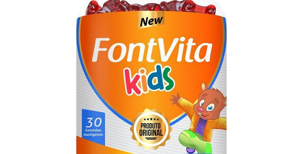 FontVita Kids - Gominhas Tutti Frutti - 30 gominhas