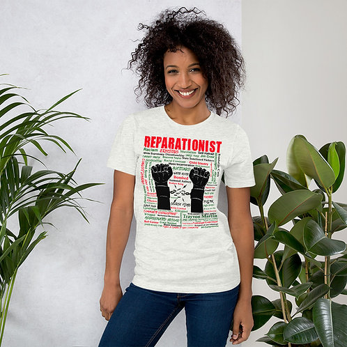 Reparationist 100% Premium Cotton Short-Sleeve Unisex T-Shirt