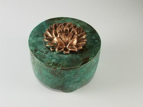 Lotus Jar (Patina)
