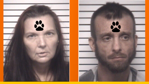 JUSTIN NATHANIEL DEATON and PEGGY SUE JENKINS facing animal cruelty charges