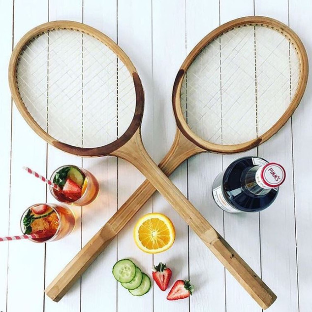tennis pimms and rackets.JPG
