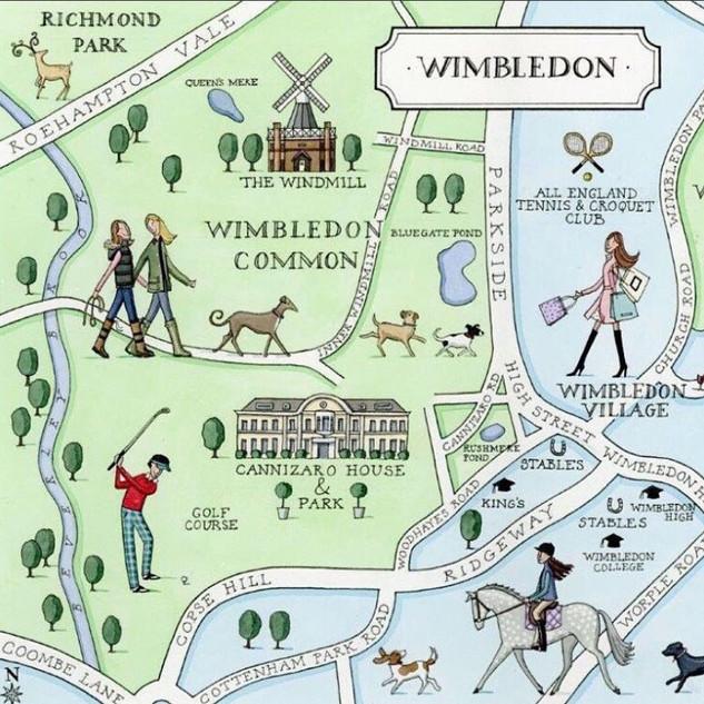 Wimbledon Common Fun Map.JPG