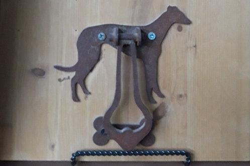 Greyhound door knockers