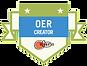 OER Creator Badge