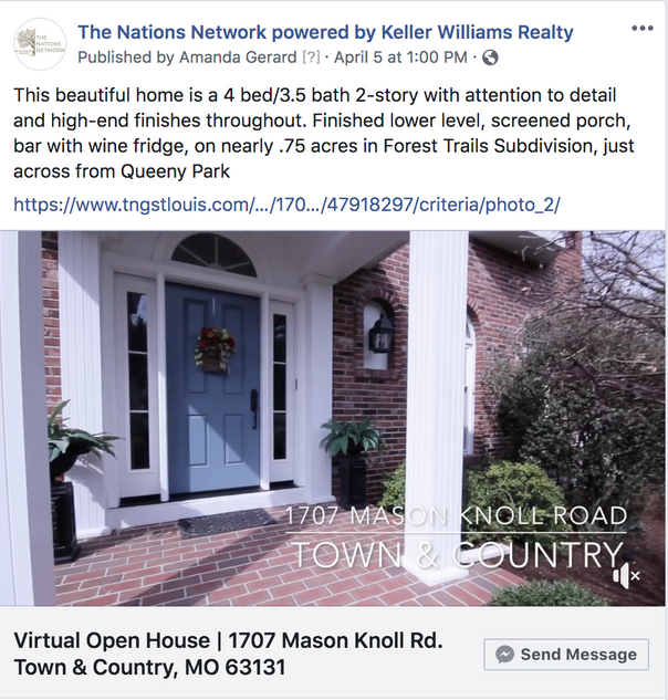 virtual home tour the nations network